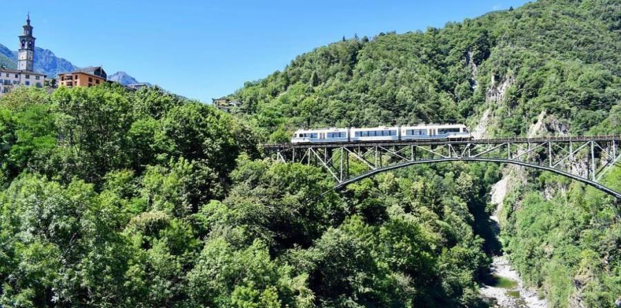 Desde el Centovalli Express se aprecian unas vistas impresionantes de Suiza. (Suministrada)