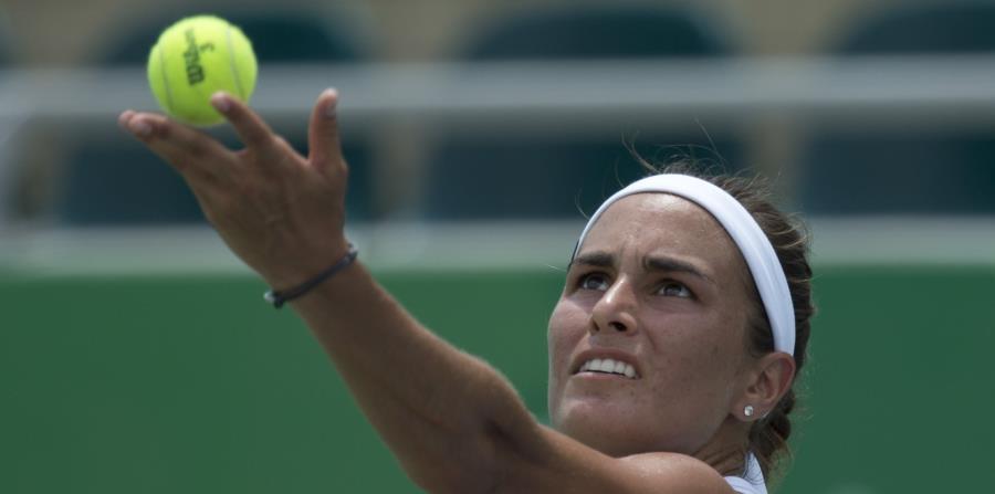 La tenista Mónica Puig durante su participación en los Juegos Centroamericanos y del Caribe (horizontal-x3)