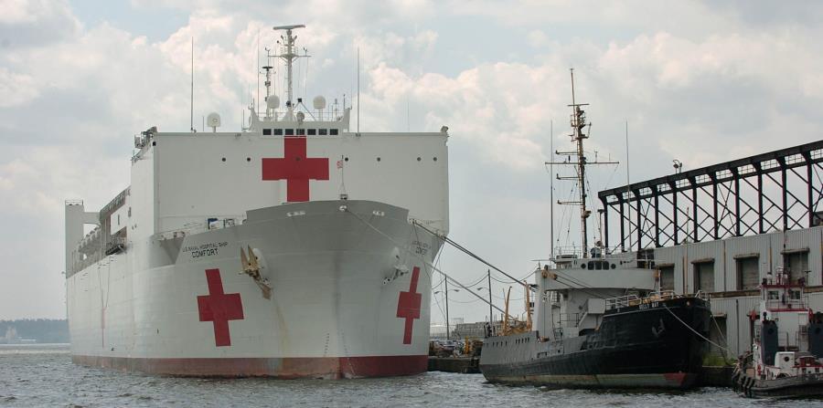 El barco ofrece terapia física, cirugía ortopédica, salud mental, nefrología, radiología y hasta el nacimiento de un niño. (horizontal-x3)