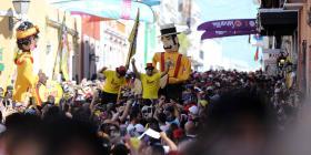 Medio millón de personas asisten hoy a las Fiestas de la Calle San Sebastián