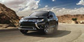 Mitsubishi Outlander 2019 galardonada por su seguridad