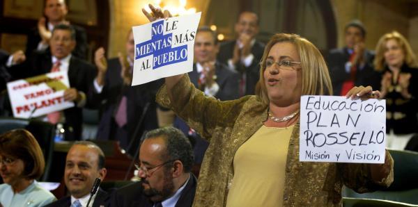 Representante Lourdes Ramos busca pensión de la AEE