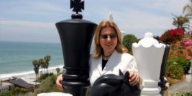 Legendaria ajedrecista Susan Polgar partió de La Habana en el último crucero