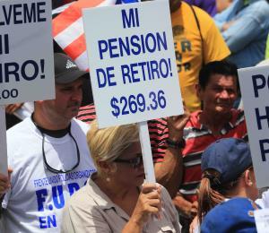 La lucha de los pensionados