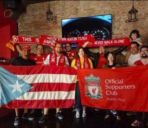 La pasión por el Liverpool FC se siente en Puerto Rico