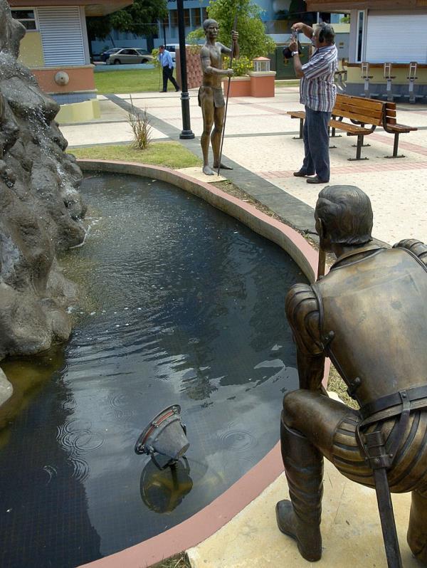 Plaza del río Parterre. (Archivo GFR Media)