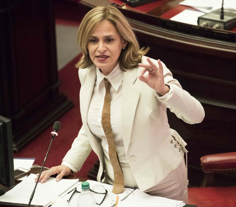 """La senadora novoprogresista Zoé Laboy aseguró que en el boxeo profesional existe un """"evidente discrimen"""" contra las mujeres. (semisquare-x3)"""