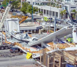 El colapso del puente floridano