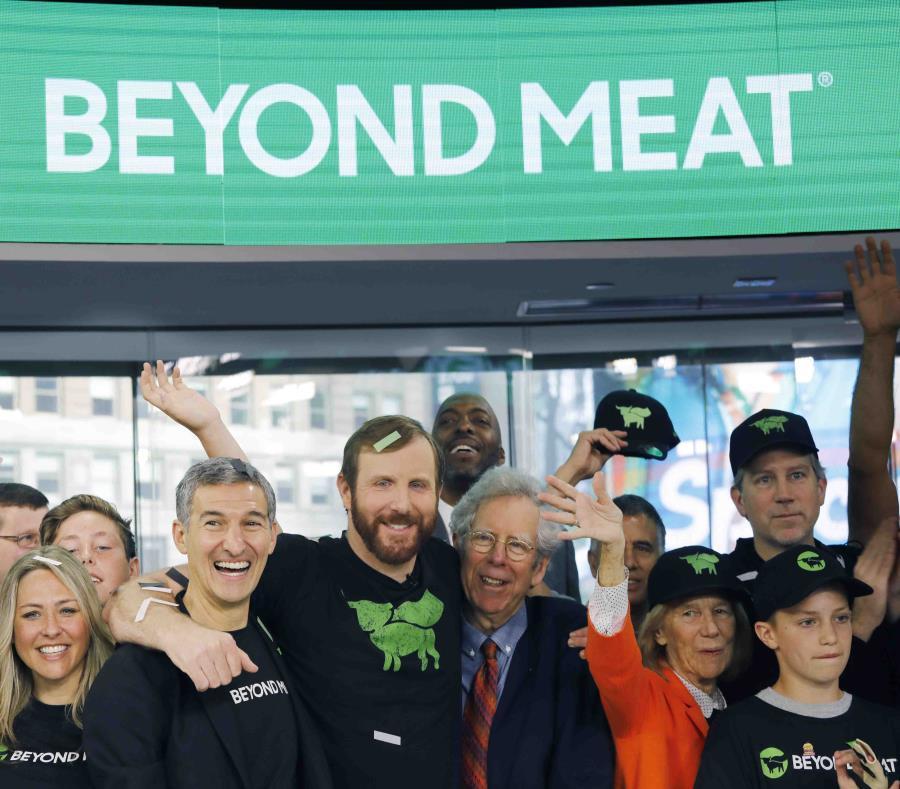 En Puerto Rico, Beyond Meat se vende en diferentes cadenas de supermercados, como Supermax, Econo y Walmart. (AP/ Mark Lennihan) (semisquare-x3)