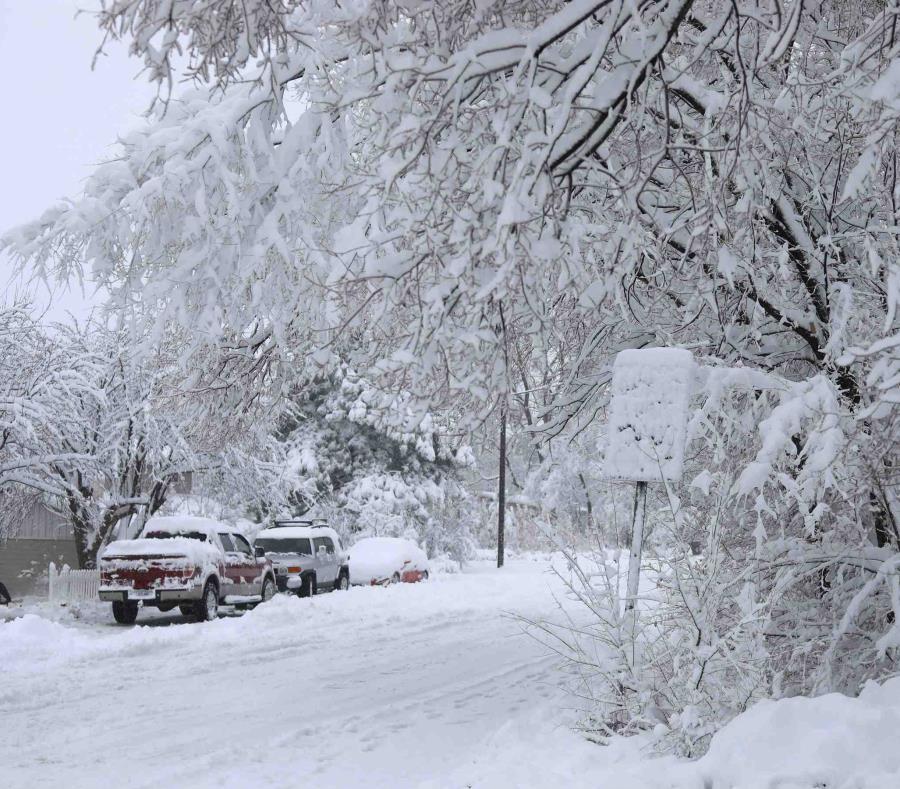 Intensa tormenta invernal comienza a desplazarse hacia el este de EE.UU