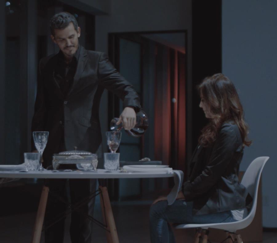 Los actores Soledad Esponda y Néstor Rodulfo  en una escena del cortometraje Celos. (Suministrada) (semisquare-x3)