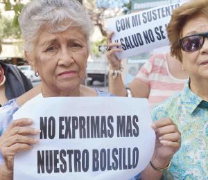 Huelga contra abusivos impuestos