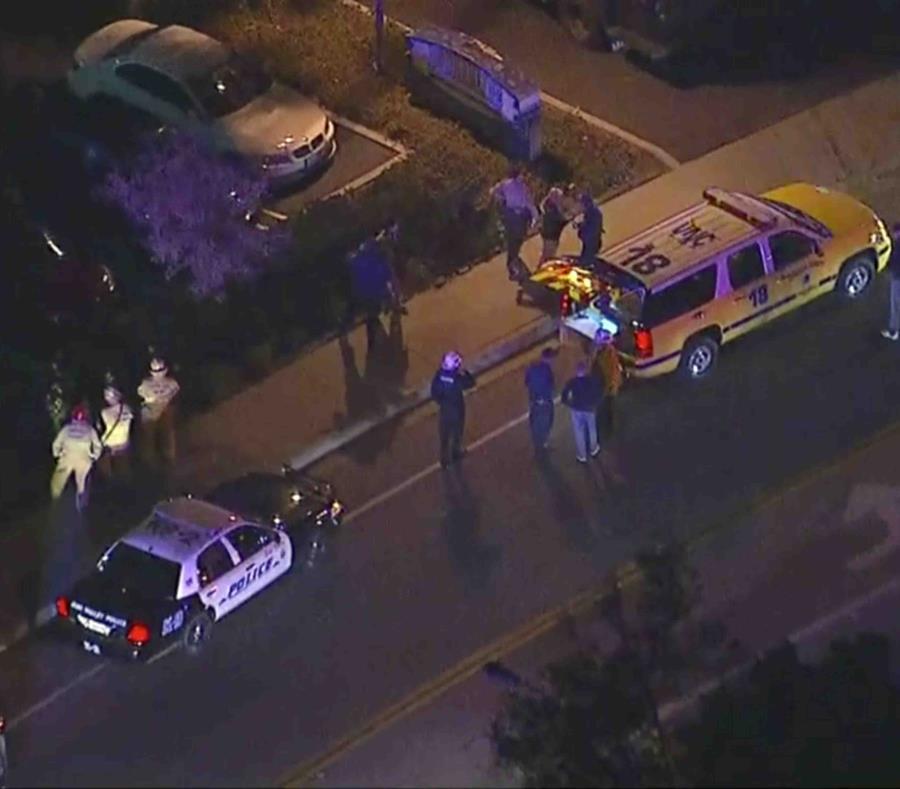 Al menos seis heridos en un tiroteo en un bar de California