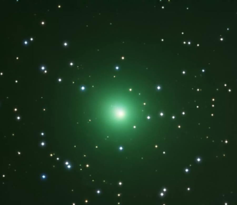 El cometa 46P/Wirtanen el pasado 12 de diciembre de 2018. (Suministrada) (semisquare-x3)