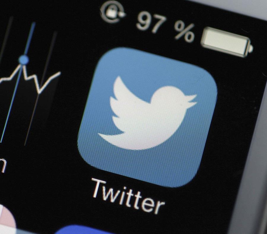 Las acciones de Twitter Inc. se desplomaron 13% en las operaciones de mediodía. (semisquare-x3)