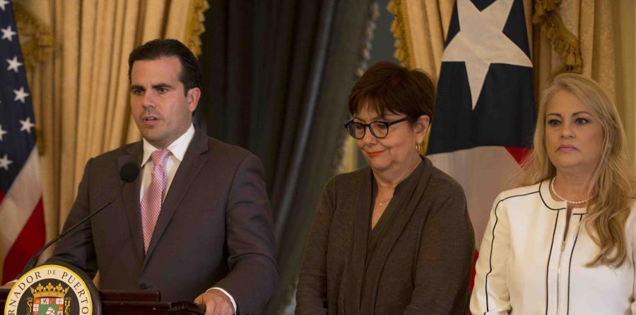 Rodríguez y Vázquez expusieron que este grupo anticorrupción es una de las prioridades del gobernador Ricardo Rosselló Nevares. (horizontal-x3)