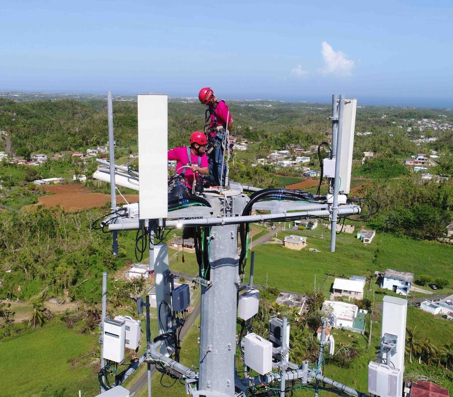 La mejora en la red tiene lugar entre uno y dos años antes de lo previsto debido, en parte, a los estragos provocados por el huracán María. (Suministrada) (semisquare-x3)