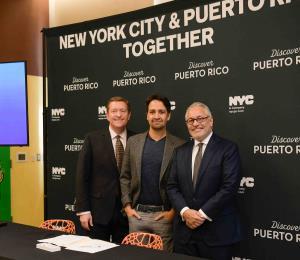 Puerto Rico y Nueva York pactan promoción turística conjunta