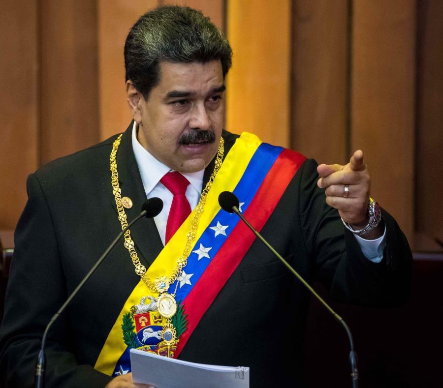 AMPLIACION: Maduro anuncia captura de importante jefe paramilitar colombiano_Spanish