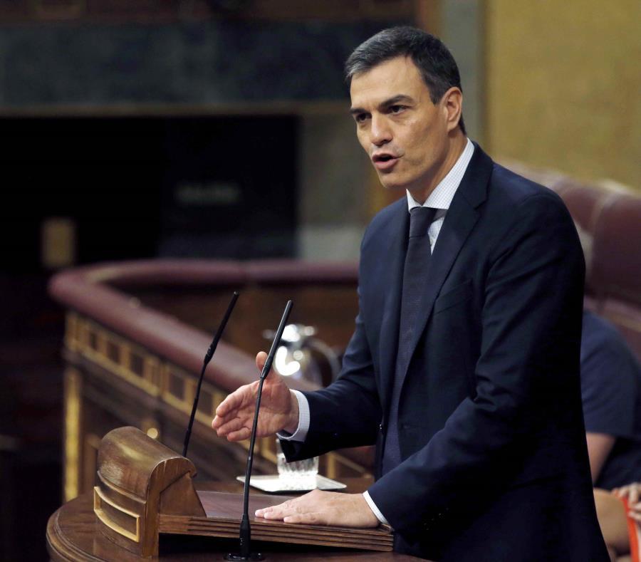 El presidente de Gobierno de España, Pedro Sánchez (semisquare-x3)