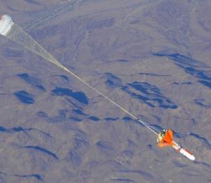 La NASA dio a conocer su primer paracaídas supersónico