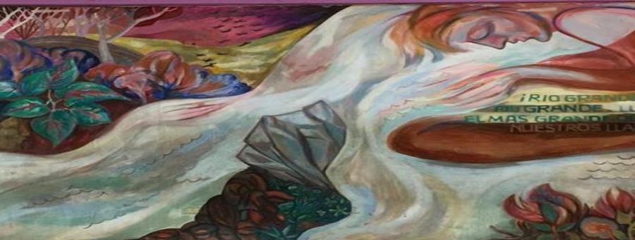El mural del artista puertorriqueño José Antonio Torres Martinó fue borrado de la escuela pública Julia de Burgos. (Suministrada) (horizontal-x3)