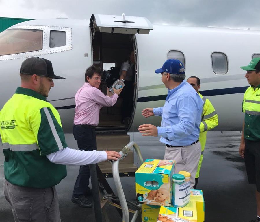 Llega a Puerto Rico un cargamento de ayuda gestionado por Israel (semisquare-x3)