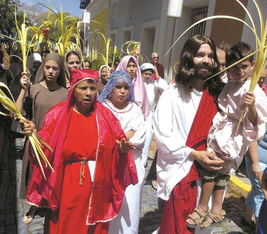 Conmemoraciones de Semana Santa serán