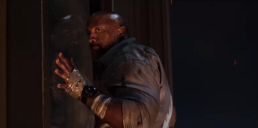 Dwayne Johnson en la película Skyscraper. (horizontal-x3)