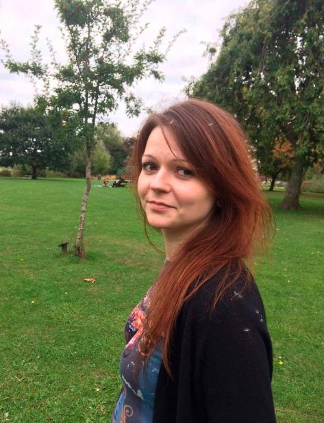 la hija del ex espía ruso Serguei Skripal, Yulia Skripal. (vertical-x1)