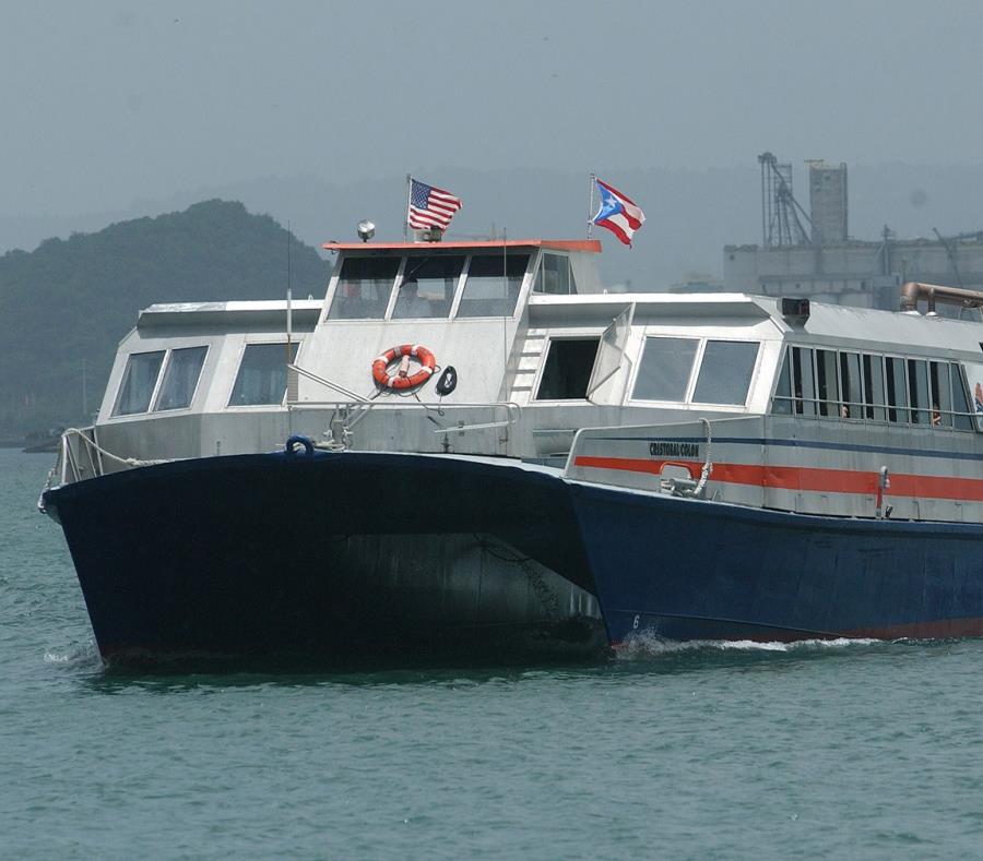 La embarcación venía de su parada en el muelle del Viejo San Juan. (semisquare-x3)