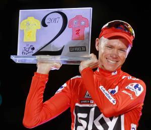 Froome da positivo por salbutamol en control en la Vuelta a España