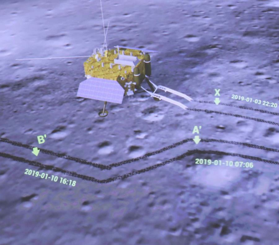 Las primeras fotos panorámicas del lado oscuro de la Luna