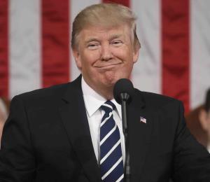 Trump: mensaje alentador y de unidad