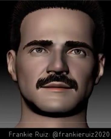 Mediante un software creado exclusivamente para esta iniciativa se está desarrollando el personaje en 3D. (Suministrada)