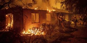 Mira cómo los incendios en California han arrasado con todo a su paso