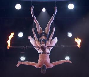 "Acróbatas causan pánico en ""America's Got Talent"" tras sufrir un accidente"