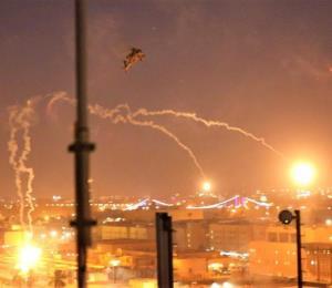 Cinco cohetes caen cerca de la Embajada de Estados Unidos en Bagdad