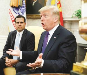 "Rosselló espera reunirse ""muy pronto"" con Donald Trump"