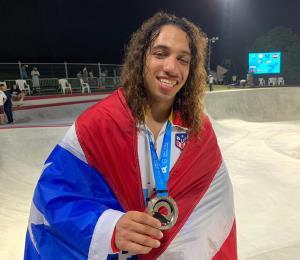 Puerto Rico gana su primera medalla en los Juegos Mundiales de Playa