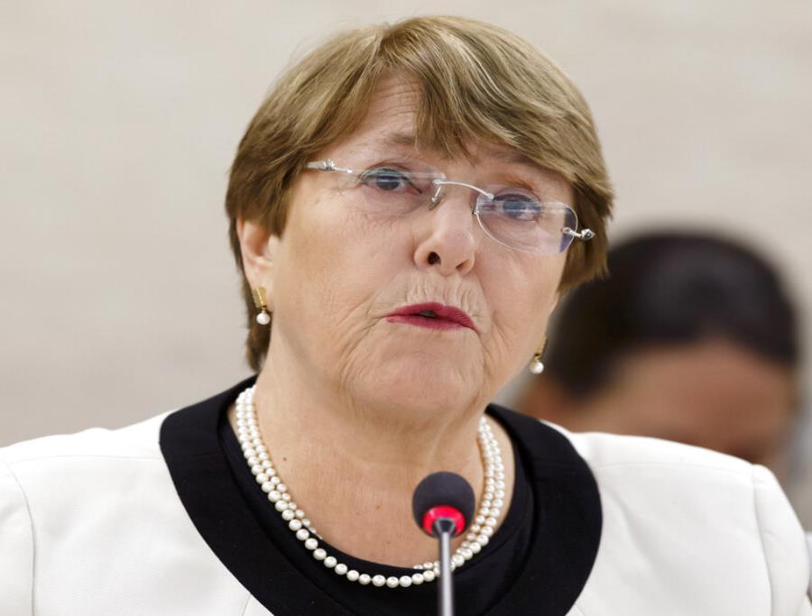 Michelle Bachelet, Alta Comisionada para los Derechos Humanos de la ONU (semisquare-x3)