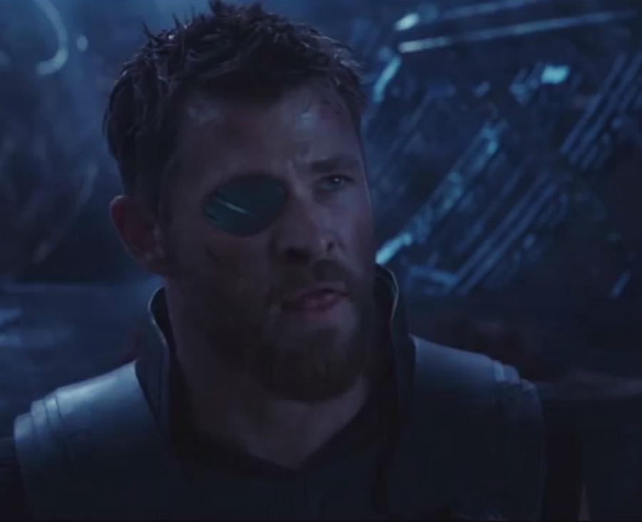 Chris Hemsworth en su papel de Thor en la saga de Avengers. (semisquare-x3)