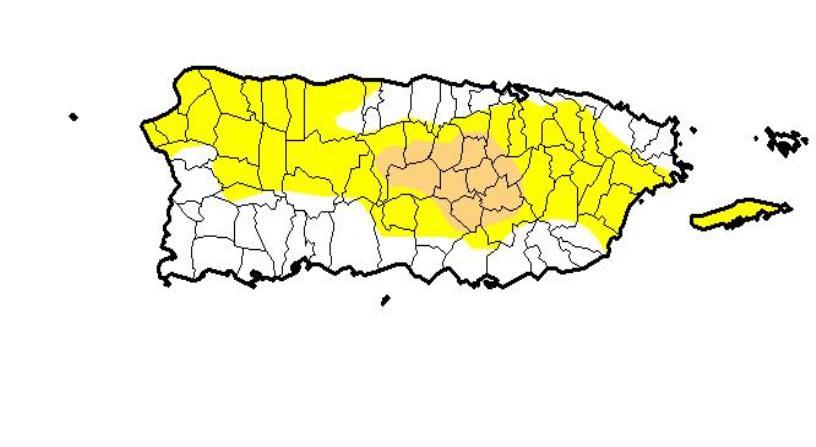 La sequía moderada en la isla se encuentra en un 342,613. (horizontal-x3)