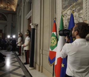 Ante el espejo de Italia