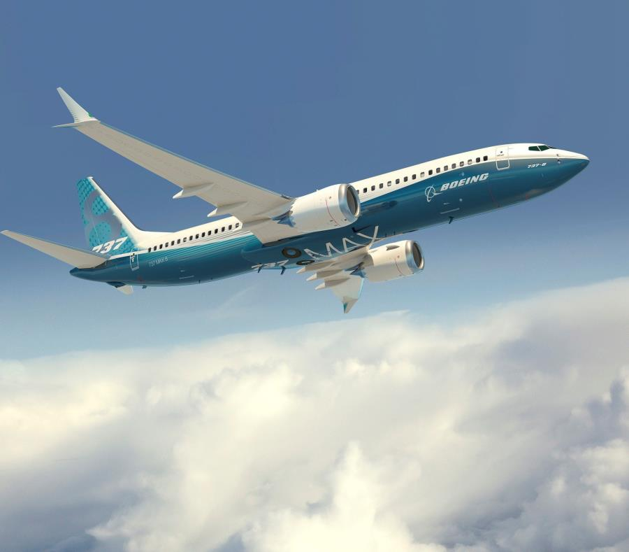 Un avión Boeing 737 MAX con los colores de la compañía. (GFR Media) (semisquare-x3)