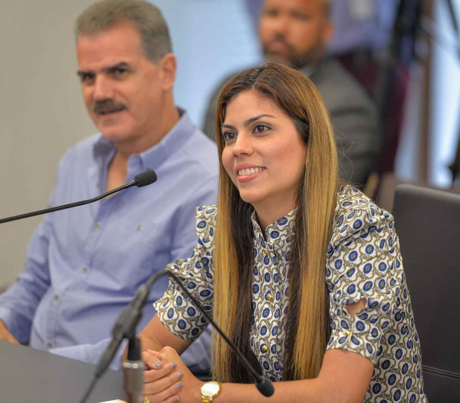 Adriana Sánchez Parés participó hoy, lunes, en una vista ante la Comisión de Nombramientos del Senado de Puerto Rico. (Suministrada) (semisquare-x3)