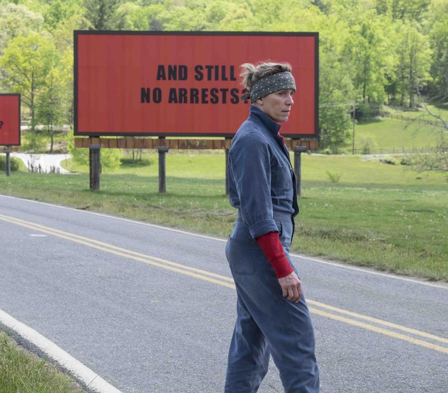'Three Billboards Outside Ebbing, Missouri' lidera los SAG