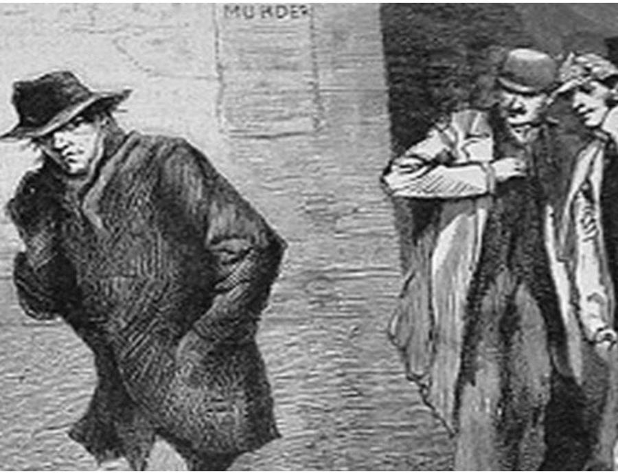 Según las investigaciones, Kosminski tenía alrededor de 23 años cuando asesinó a sus víctimas. (Ilustrated London News) (semisquare-x3)