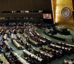 A encarrilar el debate en la ONU