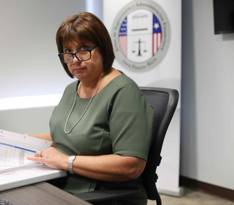 La directora ejecutiva de la Junta de Supervisión Fiscal, Natalie Jaresko. (semisquare-x3)